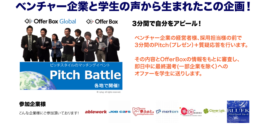 PitchBattleとは